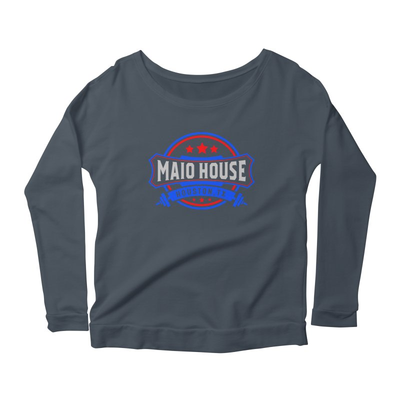 Maio House (The Best Thing) Women's Scoop Neck Longsleeve T-Shirt by M A R I A N A    Z A P A T A