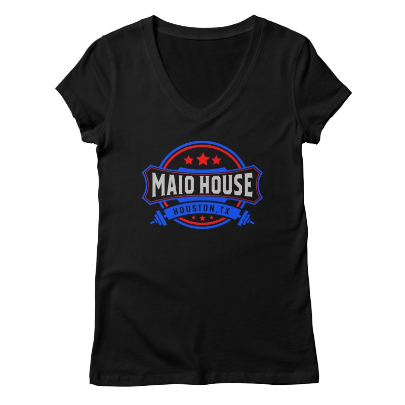 Maio House (The Best Thing) Women's Regular V-Neck by M A R I A N A    Z A P A T A