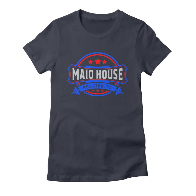 Maio House (The Best Thing) Women's Fitted T-Shirt by M A R I A N A    Z A P A T A
