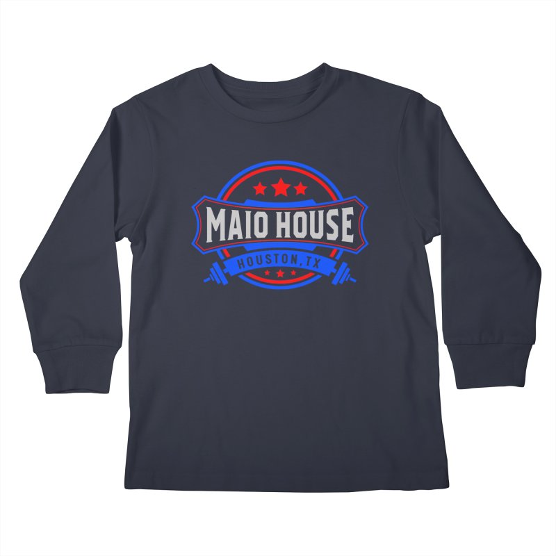 Maio House (The Best Thing) Kids Longsleeve T-Shirt by M A R I A N A    Z A P A T A