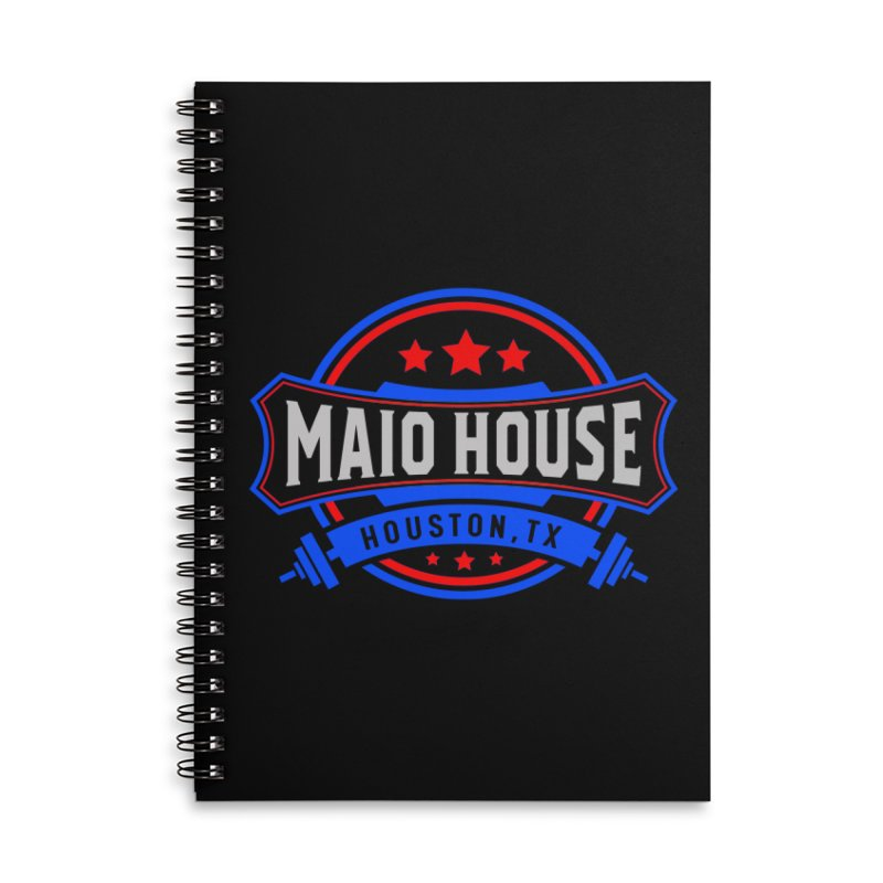 Maio House (The Best Thing) Accessories Lined Spiral Notebook by M A R I A N A    Z A P A T A