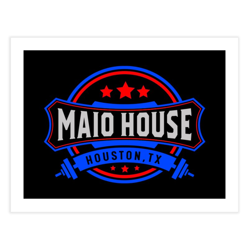 Maio House (The Best Thing) Home Fine Art Print by M A R I A N A    Z A P A T A