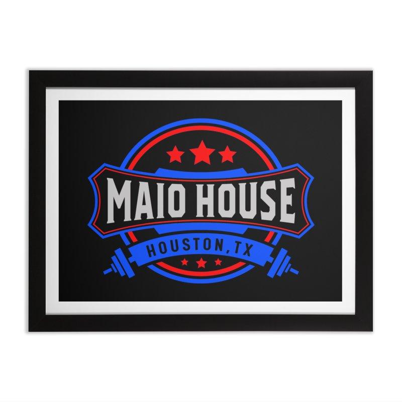 Maio House (The Best Thing) Home Framed Fine Art Print by M A R I A N A    Z A P A T A