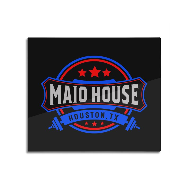 Maio House (The Best Thing) Home Mounted Aluminum Print by M A R I A N A    Z A P A T A