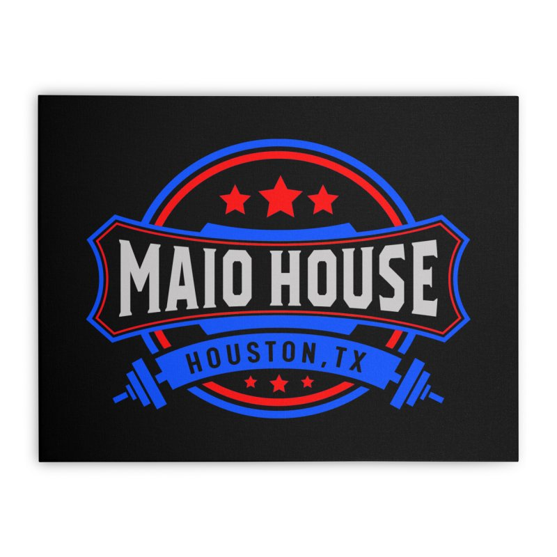 Maio House (The Best Thing) Home Stretched Canvas by M A R I A N A    Z A P A T A