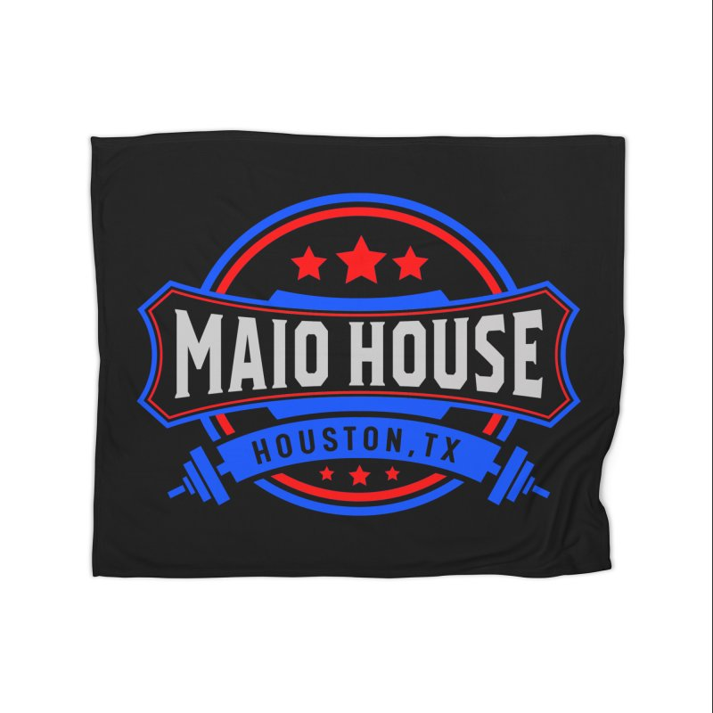 Maio House (The Best Thing) Home Fleece Blanket Blanket by M A R I A N A    Z A P A T A