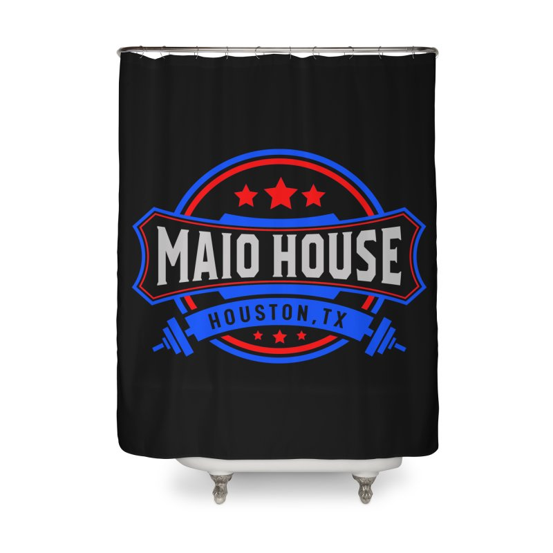 Maio House (The Best Thing) Home Shower Curtain by M A R I A N A    Z A P A T A