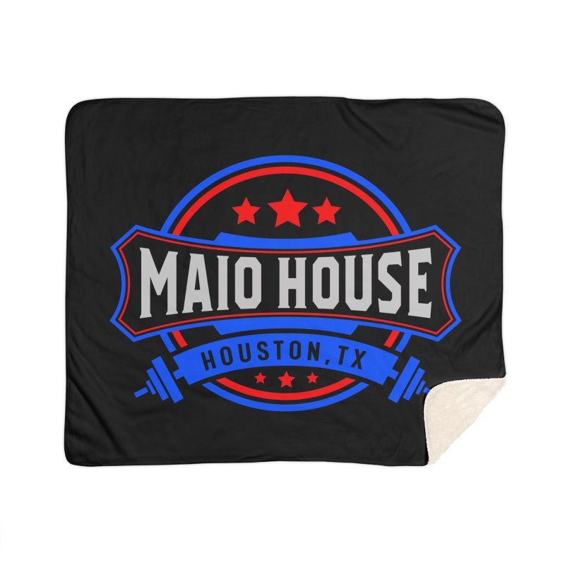 Maio House (The Best Thing) Home Sherpa Blanket Blanket by M A R I A N A    Z A P A T A
