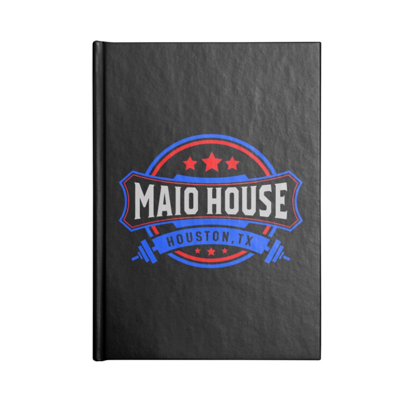 Maio House (The Best Thing) Accessories Lined Journal Notebook by M A R I A N A    Z A P A T A