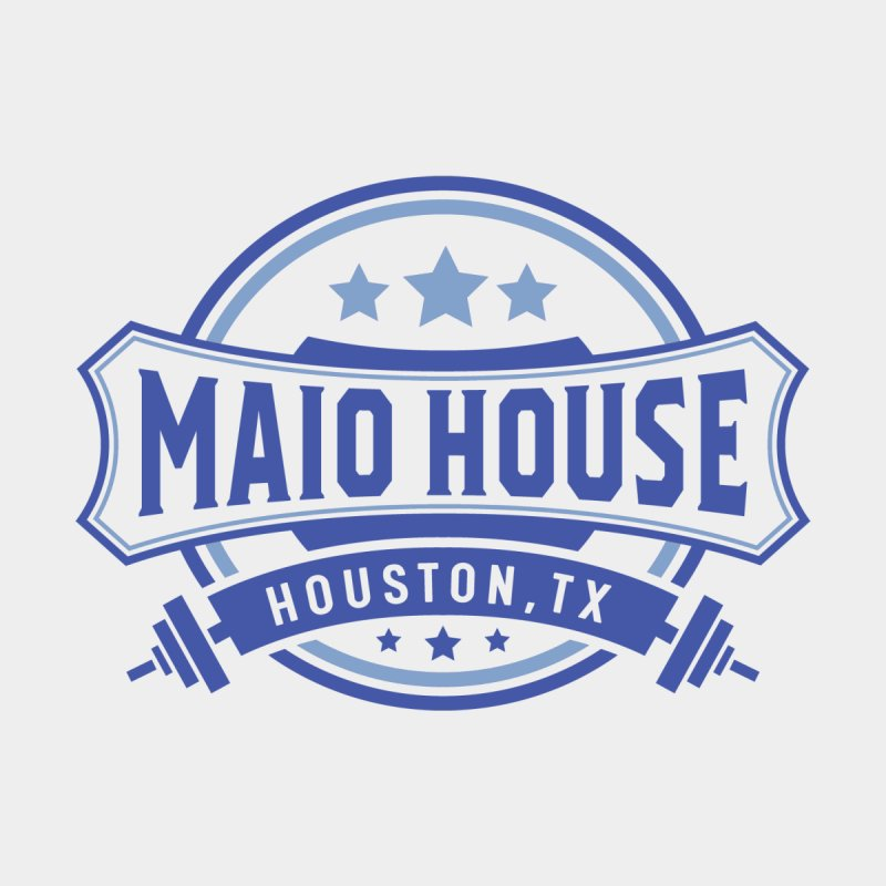 Maio House (The Best Thing) (Blue Inks) Men's T-Shirt by M A R I A N A    Z A P A T A