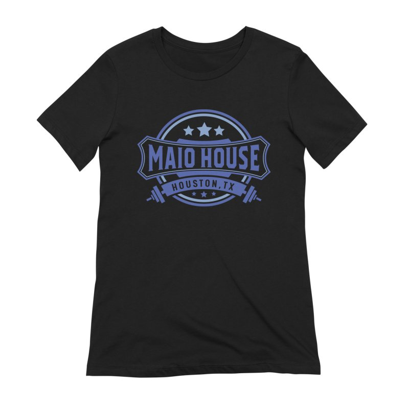 Maio House (The Best Thing) (Blue Inks) Women's Extra Soft T-Shirt by M A R I A N A    Z A P A T A