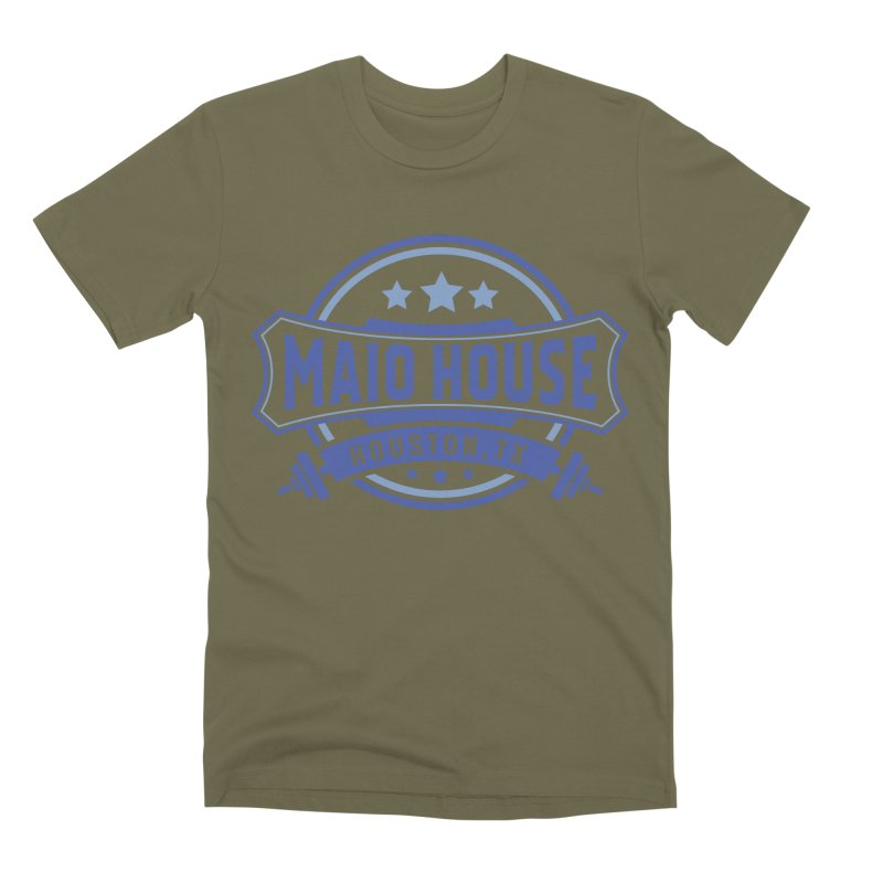 Maio House (The Best Thing) (Blue Inks) Men's Premium T-Shirt by M A R I A N A    Z A P A T A