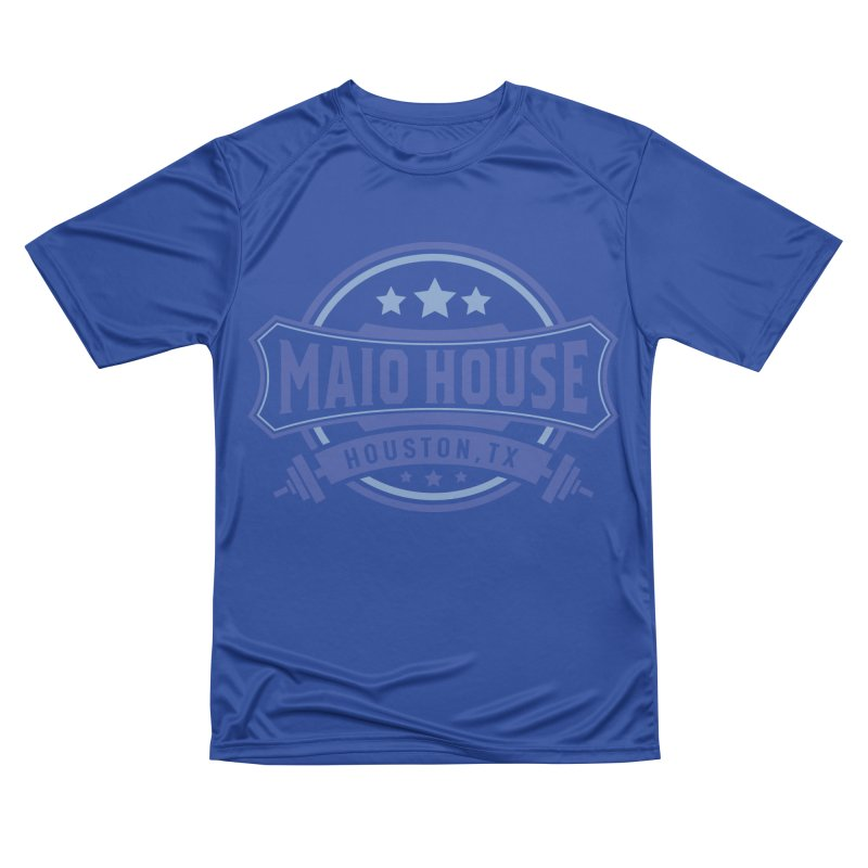 Maio House (The Best Thing) (Blue Inks) Women's Performance Unisex T-Shirt by M A R I A N A    Z A P A T A