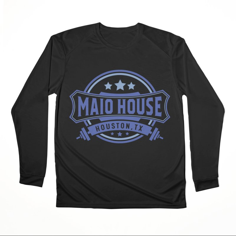 Maio House (The Best Thing) (Blue Inks) Women's Performance Unisex Longsleeve T-Shirt by M A R I A N A    Z A P A T A