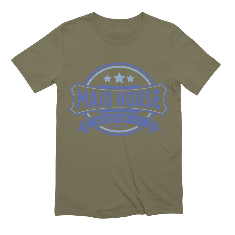 Maio House (The Best Thing) (Blue Inks) Men's Extra Soft T-Shirt by M A R I A N A    Z A P A T A