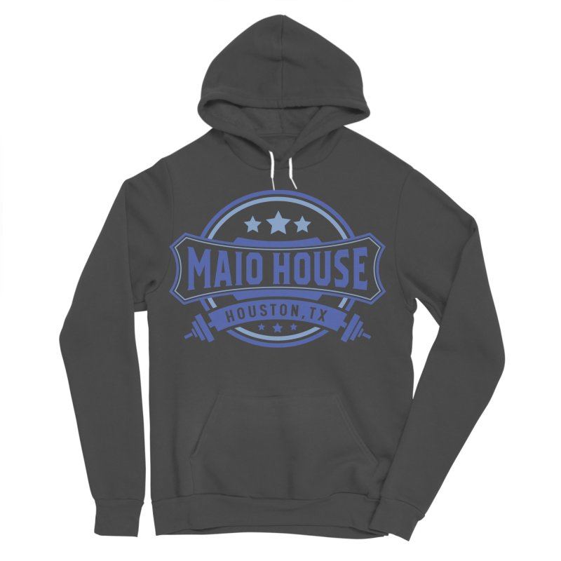 Maio House (The Best Thing) (Blue Inks) Men's Sponge Fleece Pullover Hoody by M A R I A N A    Z A P A T A