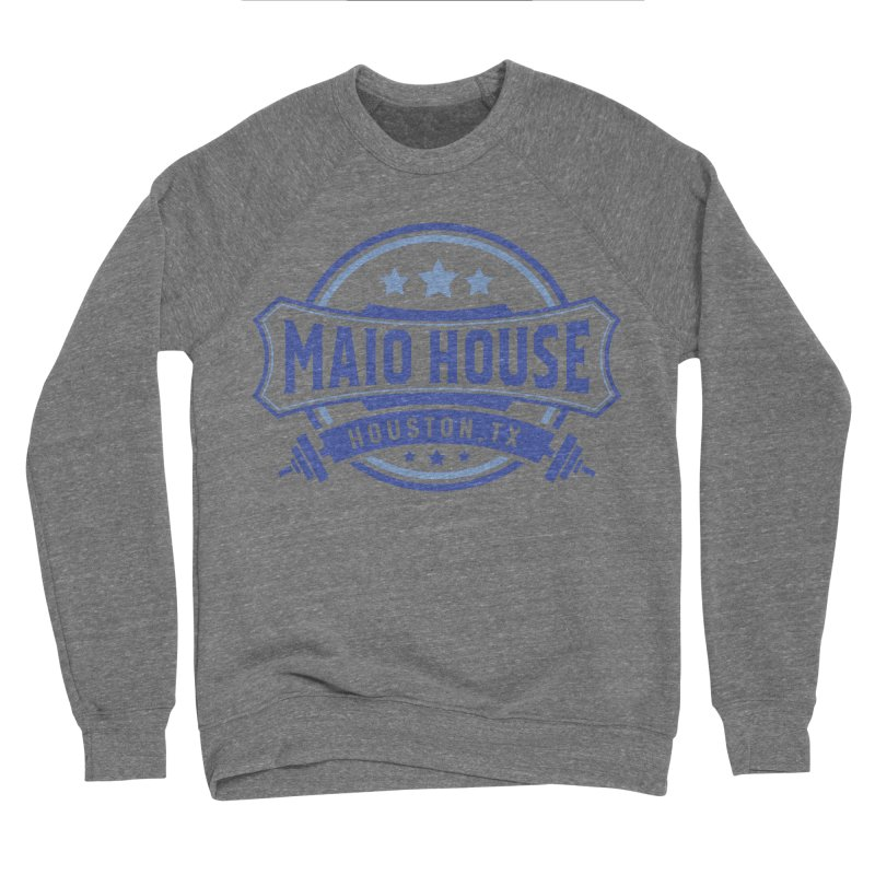 Maio House (The Best Thing) (Blue Inks) Men's Sponge Fleece Sweatshirt by M A R I A N A    Z A P A T A