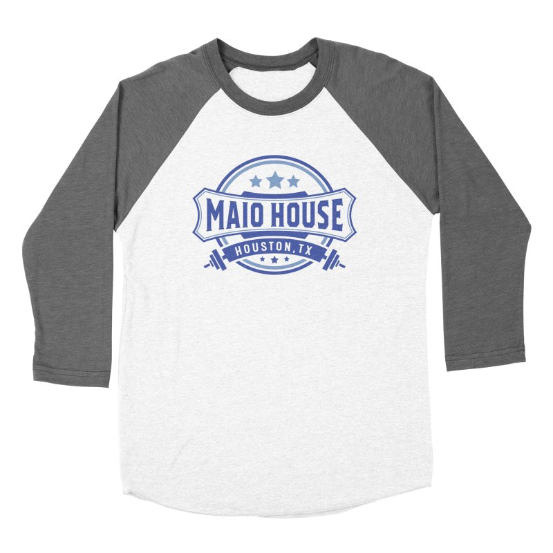 Maio House (The Best Thing) (Blue Inks) Women's Longsleeve T-Shirt by M A R I A N A    Z A P A T A