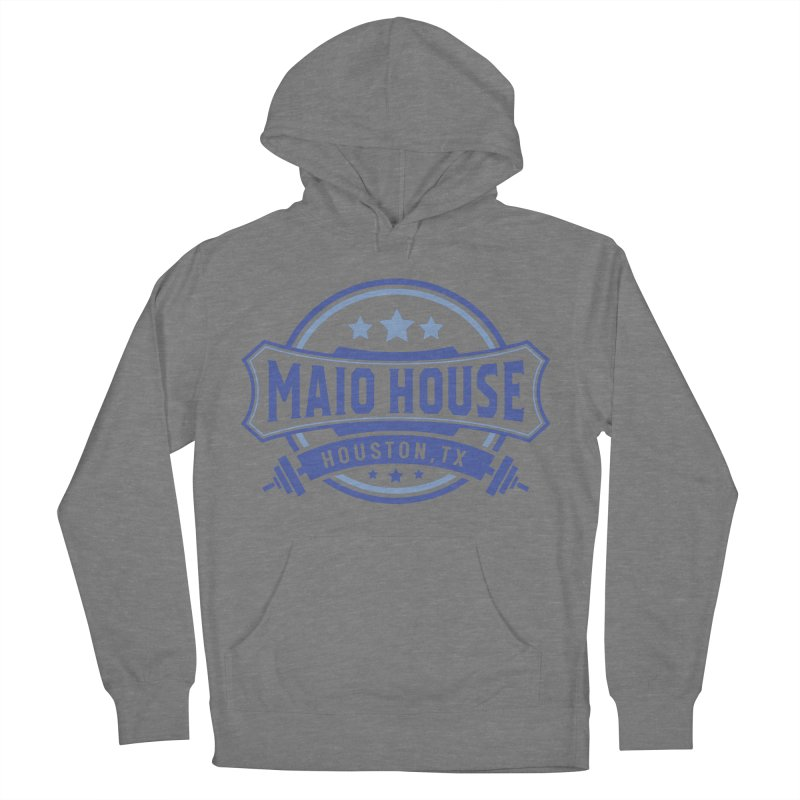 Maio House (The Best Thing) (Blue Inks) Women's French Terry Pullover Hoody by M A R I A N A    Z A P A T A