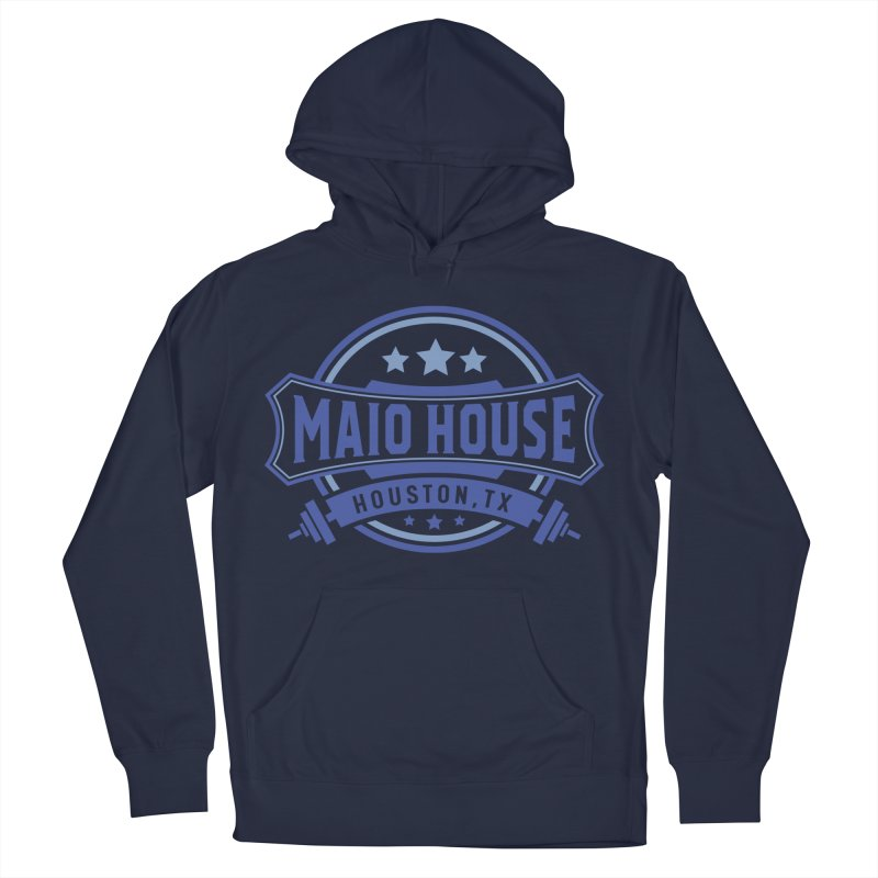 Maio House (The Best Thing) (Blue Inks) Men's French Terry Pullover Hoody by M A R I A N A    Z A P A T A