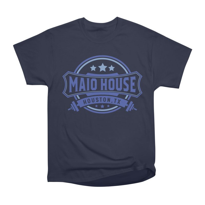 Maio House (The Best Thing) (Blue Inks) Men's Heavyweight T-Shirt by M A R I A N A    Z A P A T A
