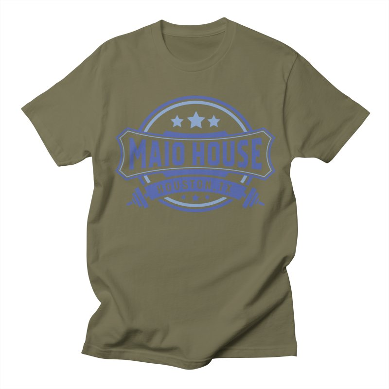 Maio House (The Best Thing) (Blue Inks) Women's Regular Unisex T-Shirt by M A R I A N A    Z A P A T A