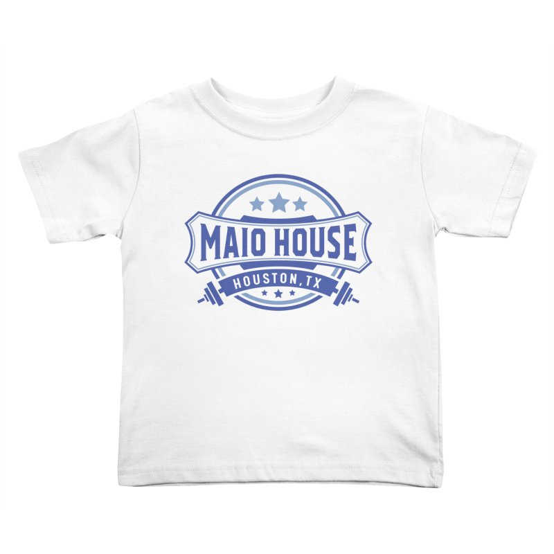 Maio House (The Best Thing) (Blue Inks) Kids Toddler T-Shirt by M A R I A N A    Z A P A T A