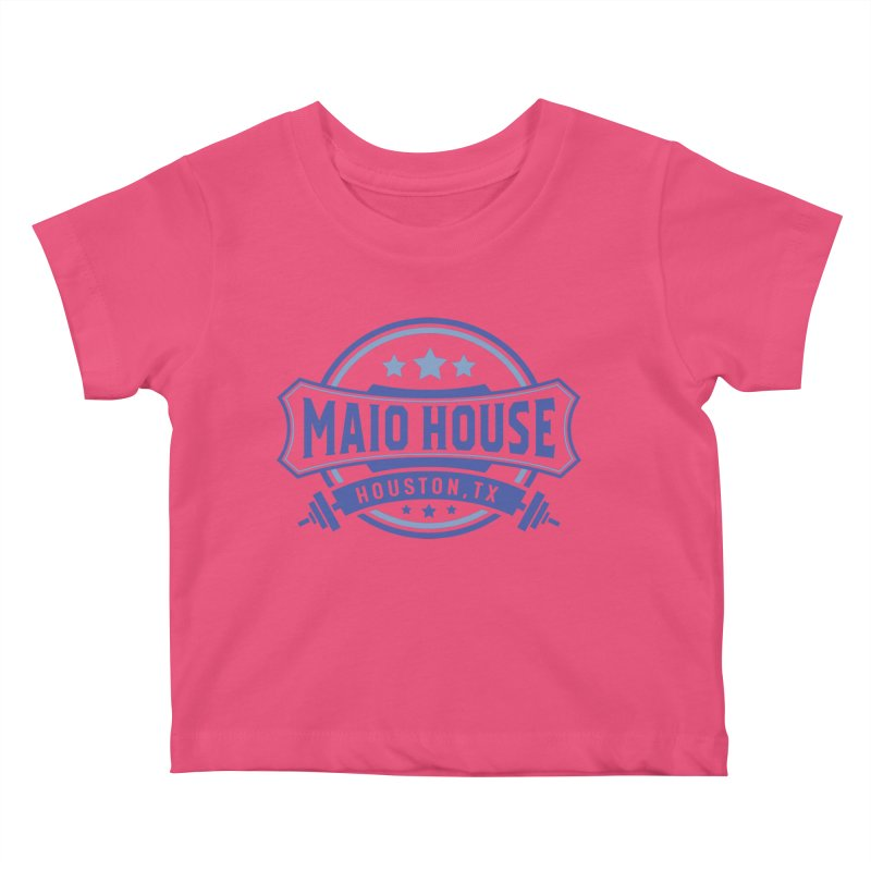 Maio House (The Best Thing) (Blue Inks) Kids Baby T-Shirt by M A R I A N A    Z A P A T A