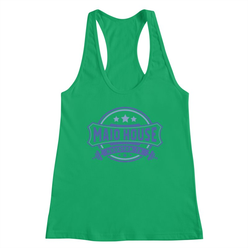 Maio House (The Best Thing) (Blue Inks) Women's Tank by M A R I A N A    Z A P A T A