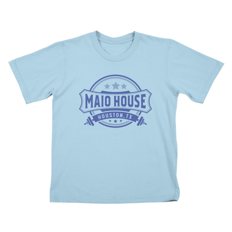 Maio House (The Best Thing) (Blue Inks) Kids T-Shirt by M A R I A N A    Z A P A T A