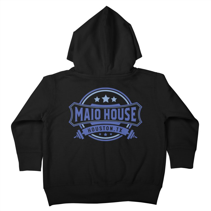 Maio House (The Best Thing) (Blue Inks) Kids Toddler Zip-Up Hoody by M A R I A N A    Z A P A T A