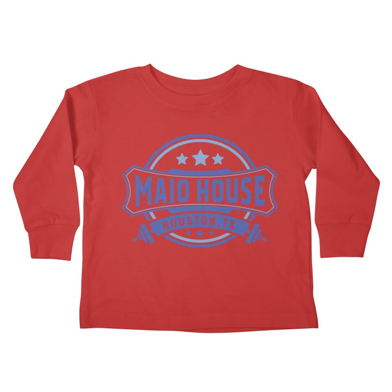 Maio House (The Best Thing) (Blue Inks) Kids Toddler Longsleeve T-Shirt by M A R I A N A    Z A P A T A