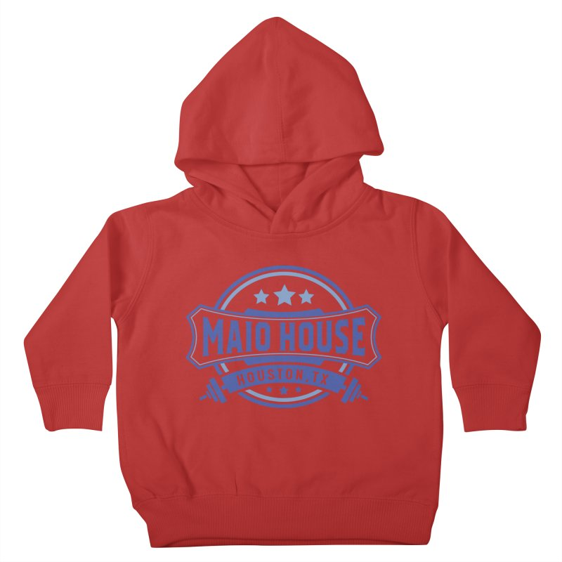 Maio House (The Best Thing) (Blue Inks) Kids Toddler Pullover Hoody by M A R I A N A    Z A P A T A