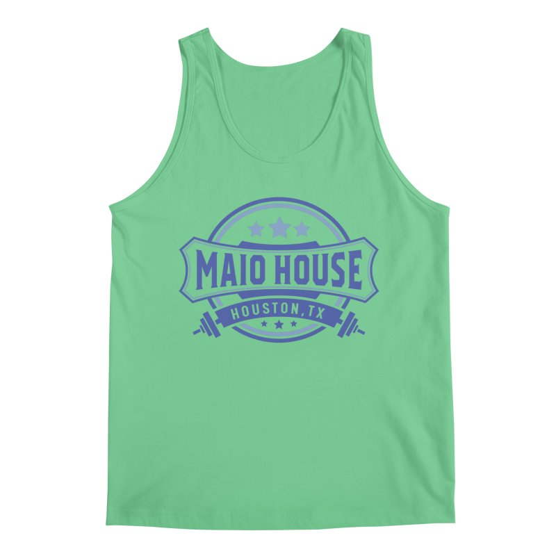 Maio House (The Best Thing) (Blue Inks) Men's Regular Tank by M A R I A N A    Z A P A T A