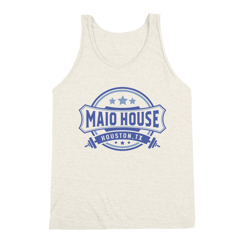 Maio House (The Best Thing) (Blue Inks) Men's Triblend Tank by M A R I A N A    Z A P A T A