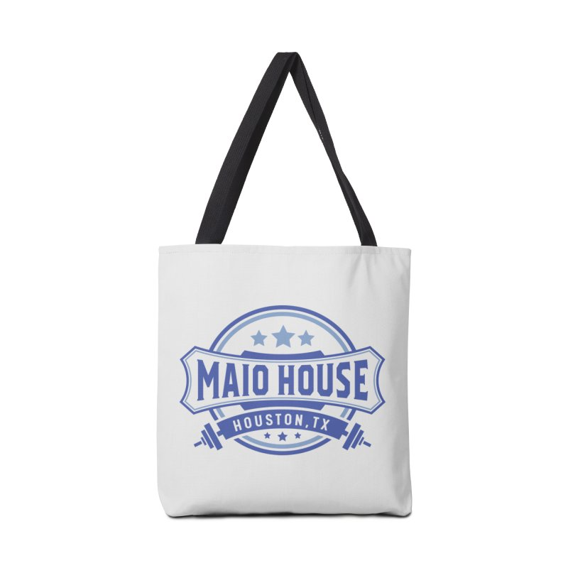 Maio House (The Best Thing) (Blue Inks) Accessories Bag by M A R I A N A    Z A P A T A
