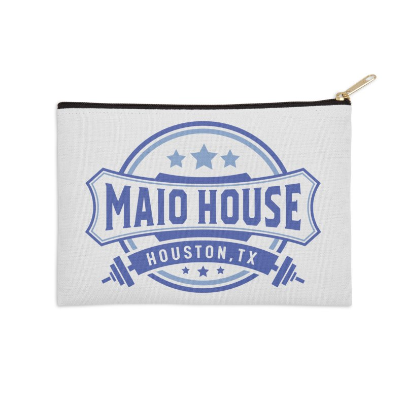 Maio House (The Best Thing) (Blue Inks) Accessories Zip Pouch by M A R I A N A    Z A P A T A
