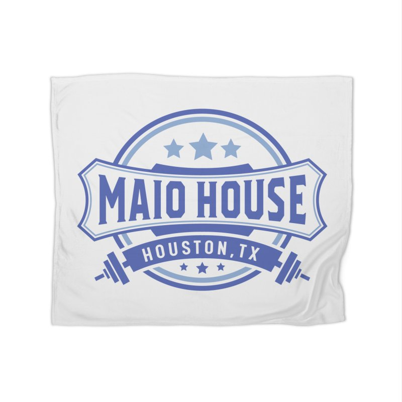 Maio House (The Best Thing) (Blue Inks) Home Fleece Blanket Blanket by M A R I A N A    Z A P A T A