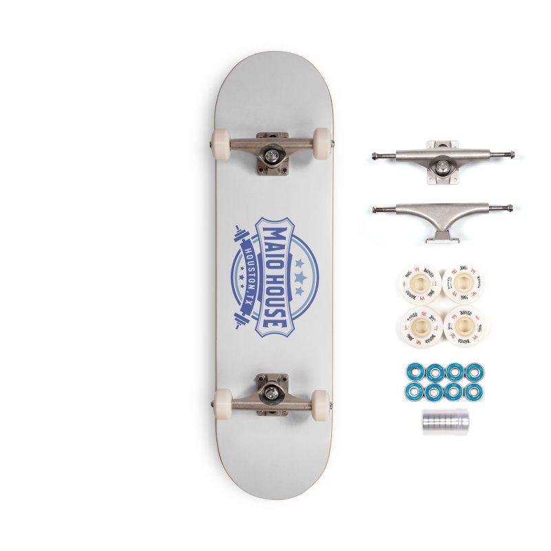 Maio House (The Best Thing) (Blue Inks) Accessories Complete - Premium Skateboard by M A R I A N A    Z A P A T A