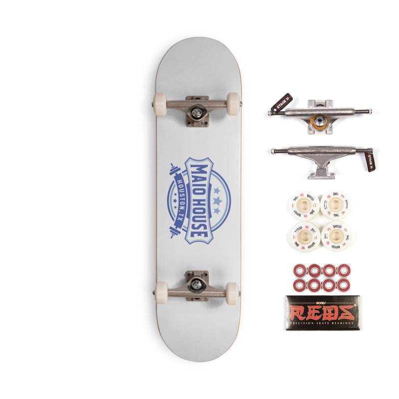 Maio House (The Best Thing) (Blue Inks) Accessories Complete - Pro Skateboard by M A R I A N A    Z A P A T A