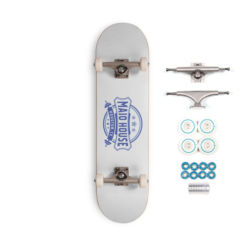 Maio House (The Best Thing) (Blue Inks) Accessories Complete - Basic Skateboard by M A R I A N A    Z A P A T A