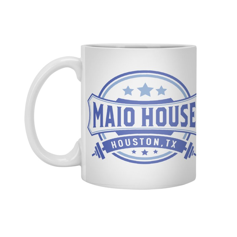 Maio House (The Best Thing) (Blue Inks) Accessories Standard Mug by M A R I A N A    Z A P A T A