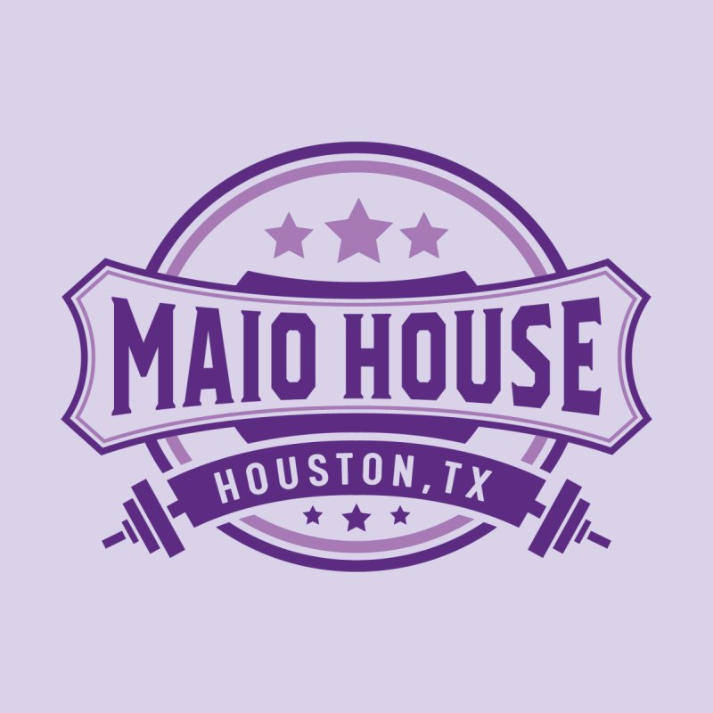 Maio House (The Best Thing) (Purple Inks) Women's Scoop Neck by M A R I A N A    Z A P A T A