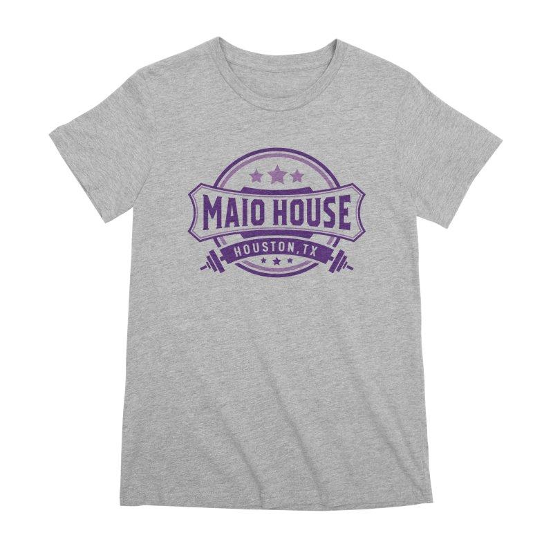 Maio House (The Best Thing) (Purple Inks) Women's Premium T-Shirt by M A R I A N A    Z A P A T A
