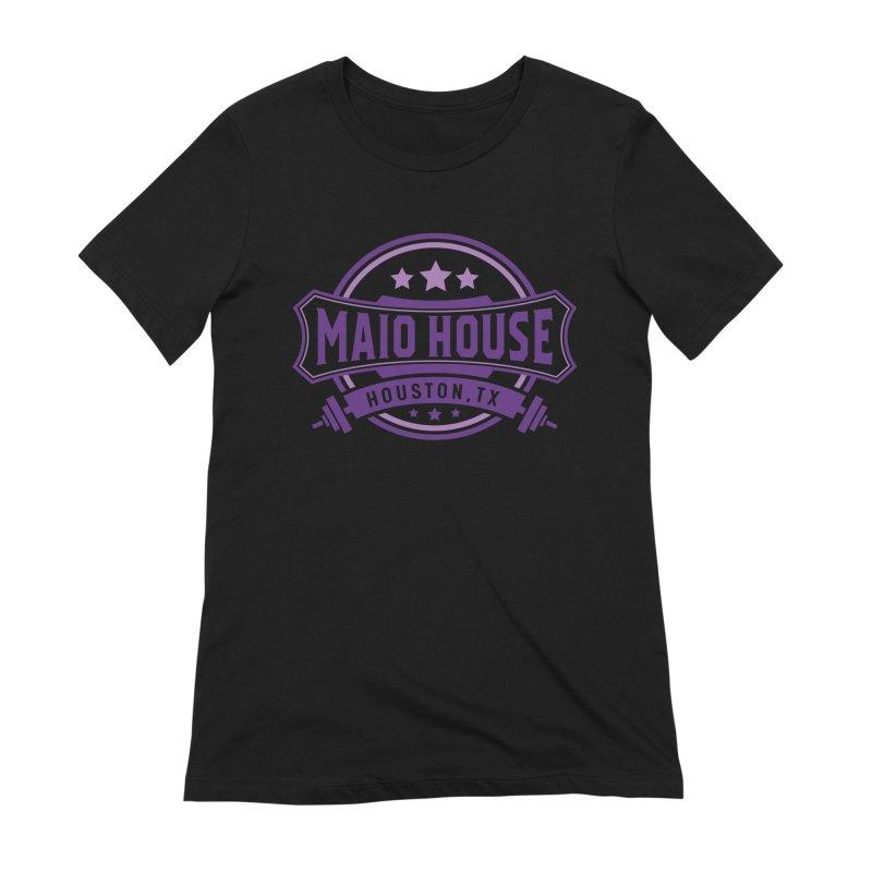 Maio House (The Best Thing) (Purple Inks) Women's Extra Soft T-Shirt by M A R I A N A    Z A P A T A