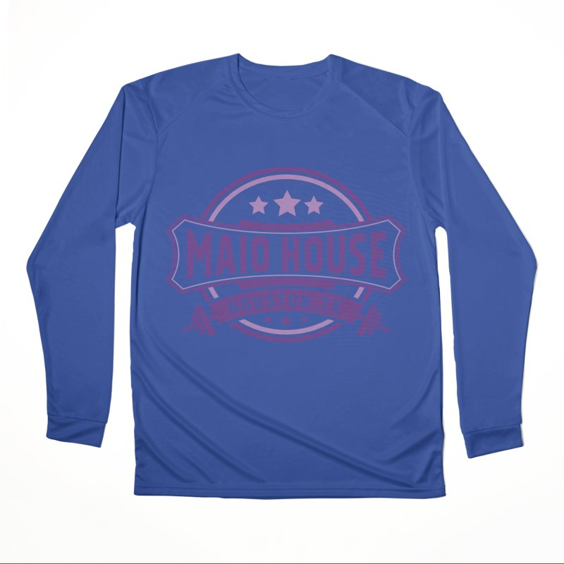 Maio House (The Best Thing) (Purple Inks) Men's Performance Longsleeve T-Shirt by M A R I A N A    Z A P A T A