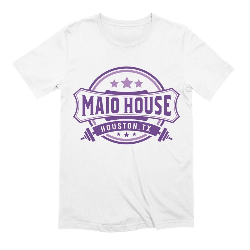 Maio House (The Best Thing) (Purple Inks) Men's Extra Soft T-Shirt by M A R I A N A    Z A P A T A