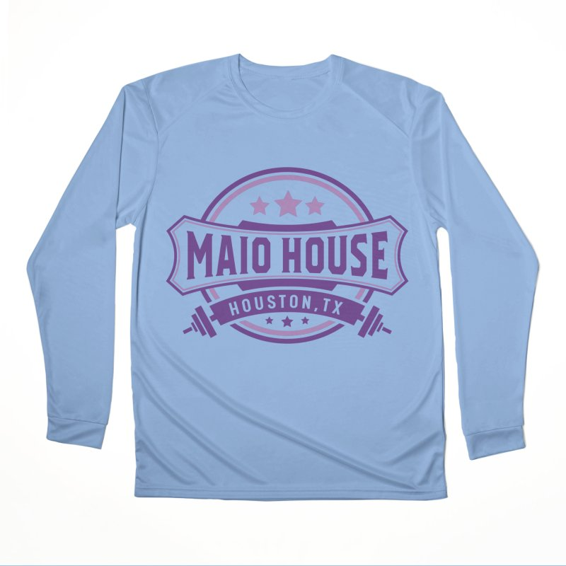 Maio House (The Best Thing) (Purple Inks) Women's Performance Unisex Longsleeve T-Shirt by M A R I A N A    Z A P A T A