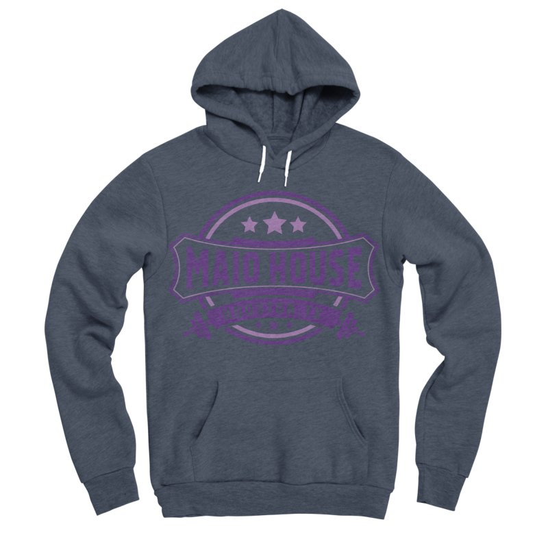 Maio House (The Best Thing) (Purple Inks) Women's Sponge Fleece Pullover Hoody by M A R I A N A    Z A P A T A