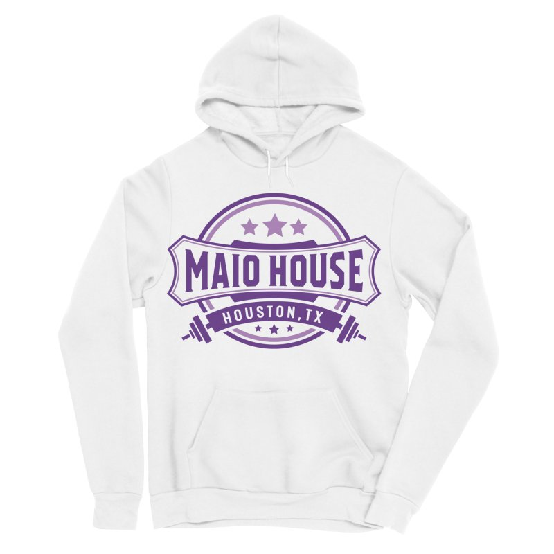 Maio House (The Best Thing) (Purple Inks) Men's Sponge Fleece Pullover Hoody by M A R I A N A    Z A P A T A